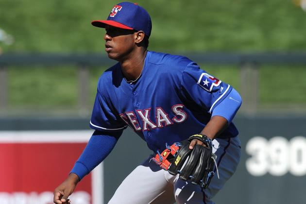 Rangers Send Baseball's Best Prospect Jurickson Profar to Minors