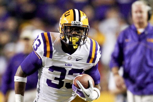 Jeremy Hill Could Be LSU's X Factor in 2013