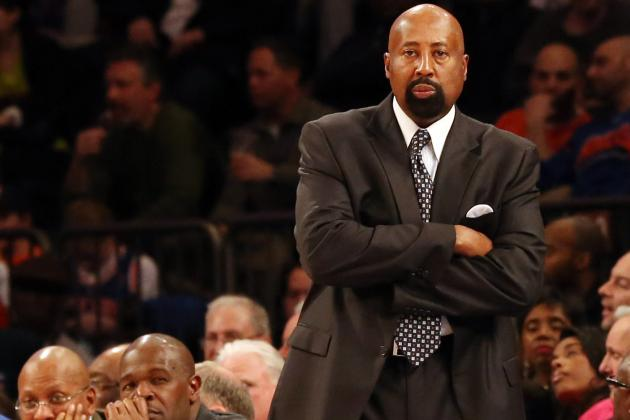 Knicks Coach Wants Shot at Ending Heat Streak
