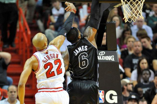 Taj Gibson Willing to Help Recruit LeBron James to Bulls in 2014