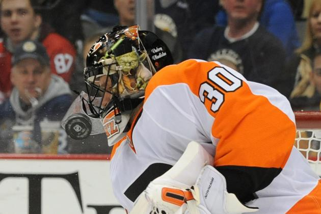Bryzgalov Doesn't Have an 'Answer' for Struggles