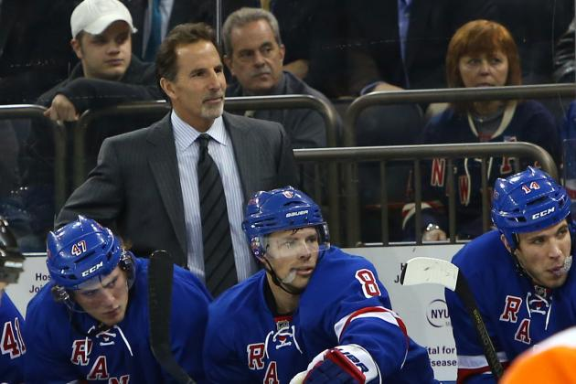Rangers Rout Flyers, Hold onto 8th and Give Tortorella 400th Career Victory