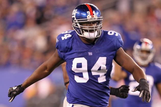 Report: New York Giants Likely Moving Mathias Kiwanuka Back to DE in 2013