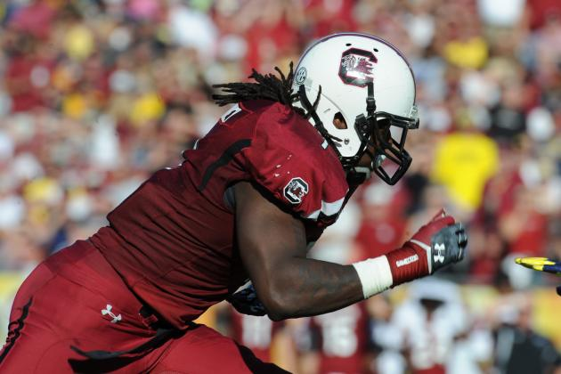 Clowney Has 'No Interest at All' in Getting Offensive for Heisman Bid