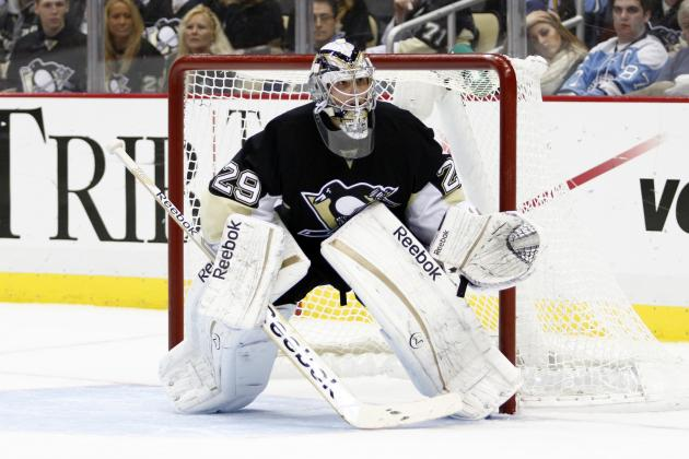 Bylsma: Letang out 7-10 Days; Fleury Still Being Evaluated
