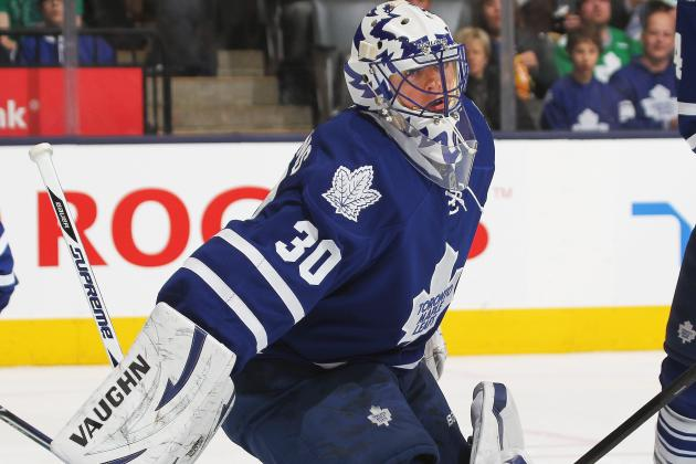 Maple Leafs' Ben Scrivens Unfazed by Miikka Kiprusoff Trade Talk