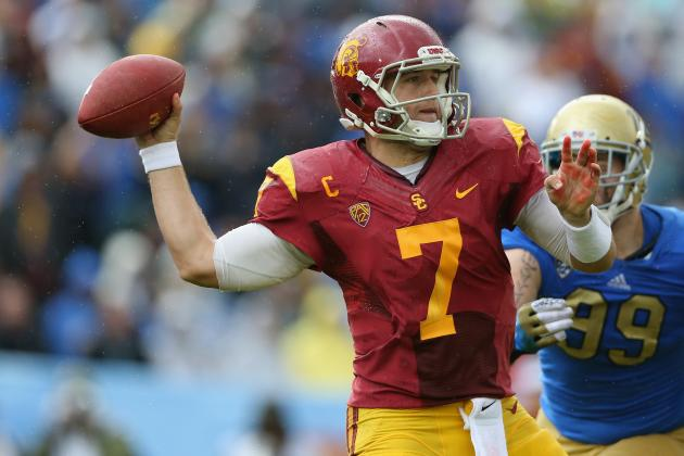 Updated Draft Stock, Buzz & Observations from Matt Barkley's Pro Day