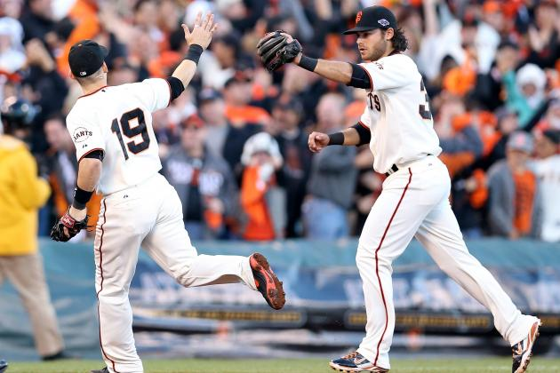 Giants' Brandon Crawford Thriving with Marco Scutaro as His Mentor