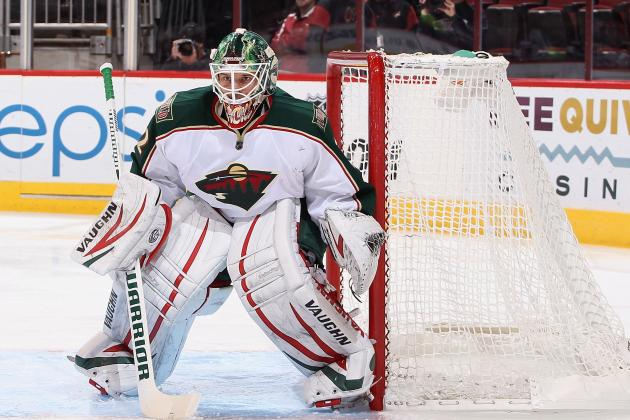 Minnesota Wild Keeping Red-Hot Niklas Backstrom in Goal