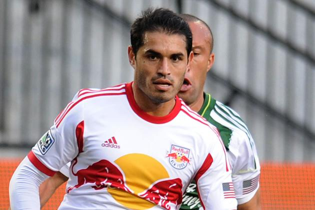 New York Red Bulls Forward Fabian Espindola Hit with Hamstring Setback