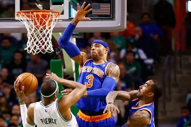 Knicks Poised to Take Celtics' Crown
