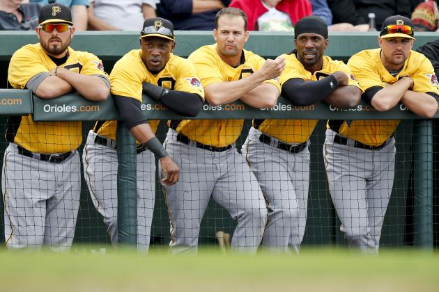 Pirates Make 9 Roster Moves