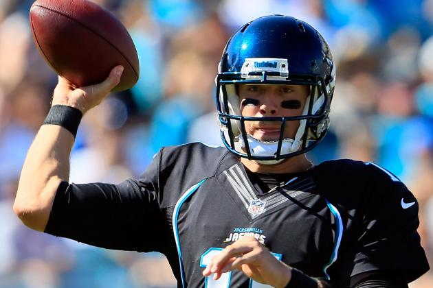 Jaguars QB Blaine Gabbert on Anonymous Criticism: 'Say It to Me'