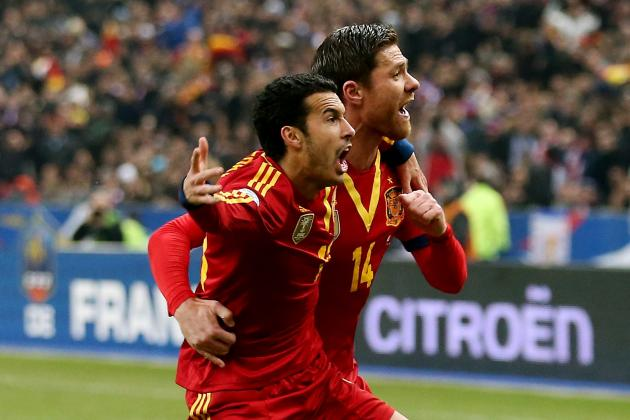 Spain vs. France: La Furia Roja Must Find Go-to Striker to Win 2014 World Cup