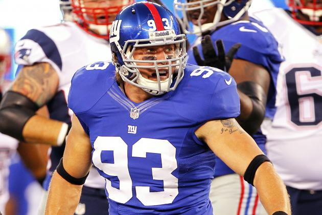 Panthers Sign Former Giants LB Chase Blackburn