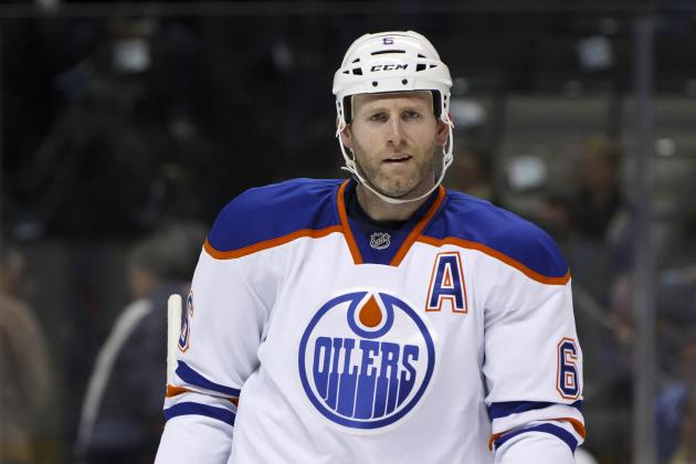 Bruins in Discussion with Oilers over Ryan Whitney, NHL Insider Says