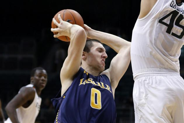 La Salle Center Steve Zack Cleared to Play in Sweet 16 Game Against Wichita St.
