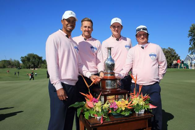 Tavistock Cup 2013: Tiger Woods Gains Momentum for Masters After Team Albany Win