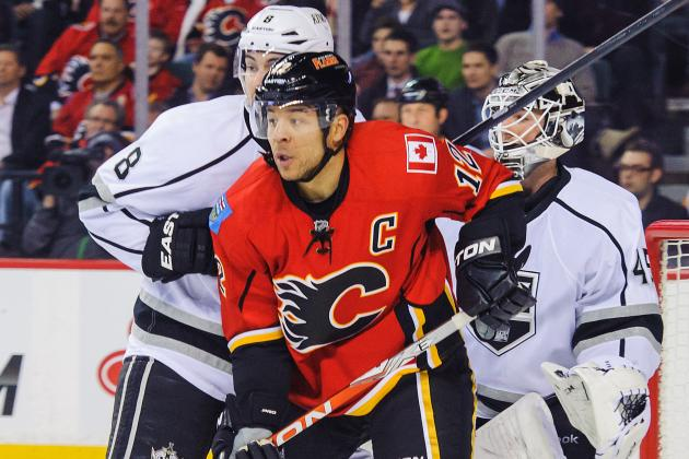 Jarome Iginla Healthy Scratch Tonight vs. Avalanche Amid Trade Rumors