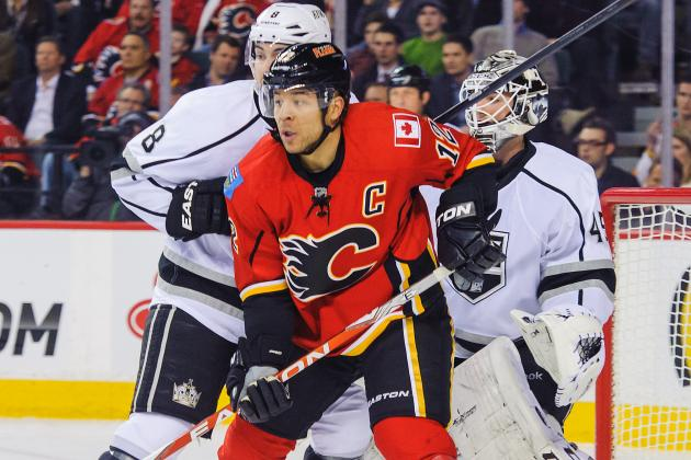 Jarome Iginla a Healthy Scratch for Flames