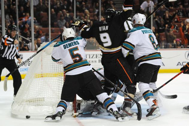 ESPN Gamecast: Ducks vs. Sharks