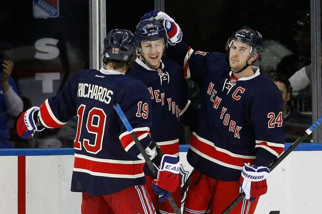 So-so New York Rangers Seek Spark Down the Stretch