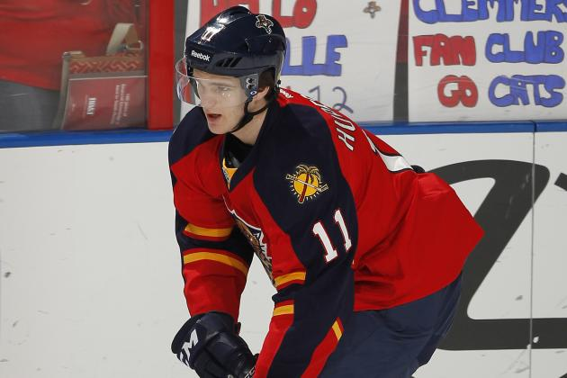 Florida Panthers' Jonathan Huberdeau in Pursuit of a Trophy