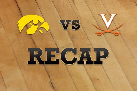 Iowa vs. Virginia: Recap, Stats, and Box Score