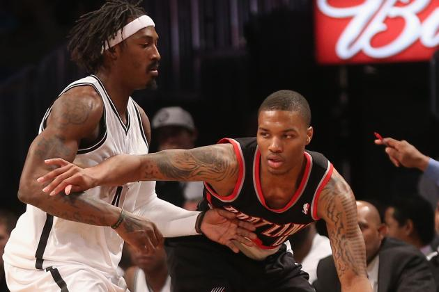 NBA Gamecast: Nets vs. Blazers