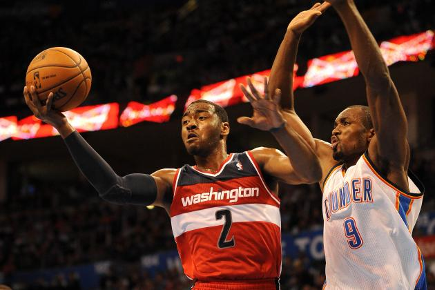 Thunder 103, Wizards 80