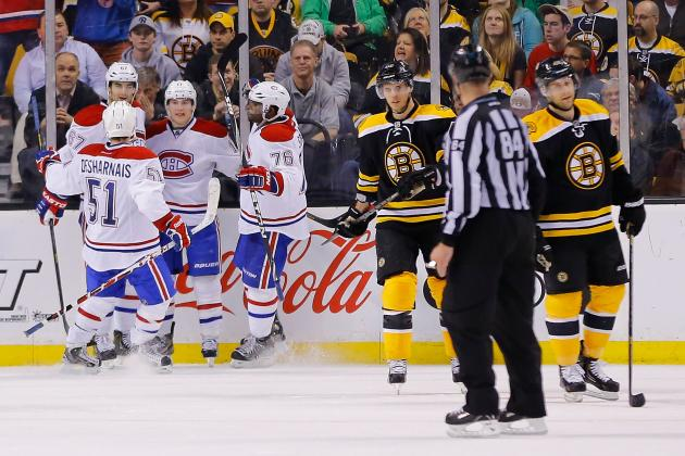 Rapid Reaction: Canadiens 6, Bruins 5