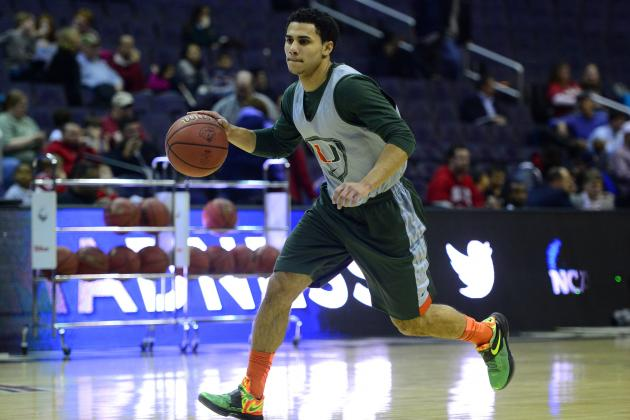 Shane Larkin Is the Key to Deep Tournament Push for Miami Hurricanes