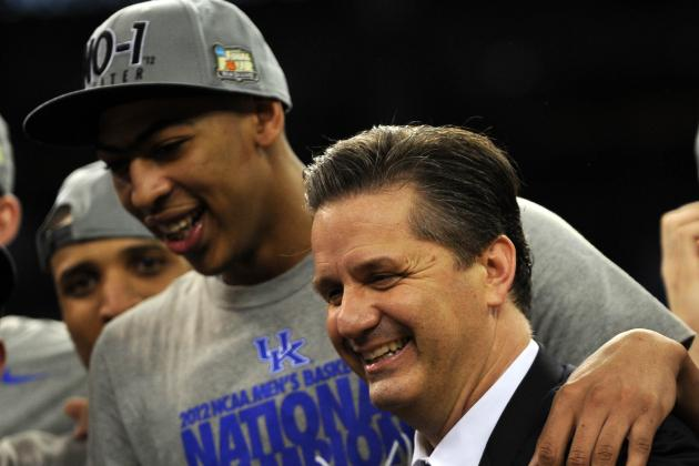 Anthony Davis Impresses His College Coach, Kentucky's John Calipari