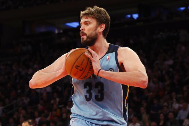 Gasol's Surprise Return to Grizzlies Not Enough in 108-101 Loss to Knicks
