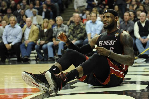 Miami Heat's Win Streak Reveals LeBron James' New Nasty Side