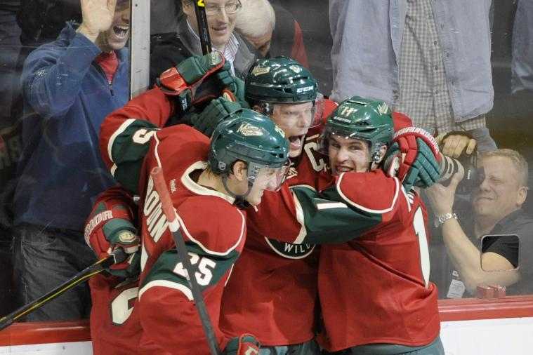 Wild Wins Seventh in a Row