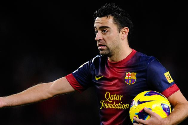 Xavi Back on Barca Injury List