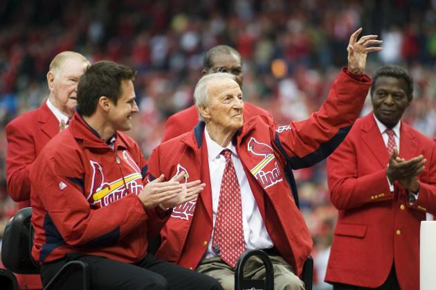 Cardinal Players to Honor Stan Musial with Patch