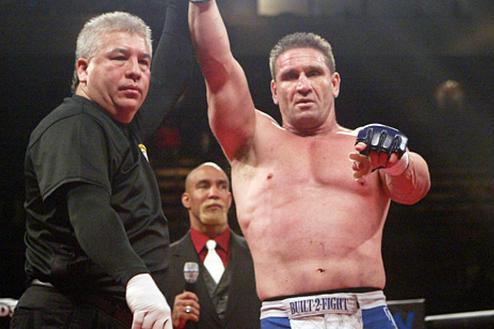 Ken Shamrock-Ian Freeman Bout Targeted for July 27 in England's UCFC
