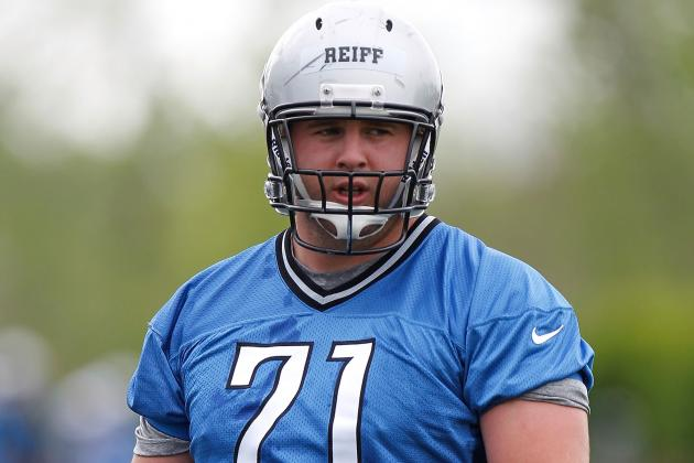 Riley Reiff Is Ready to Step into a Starter's Role