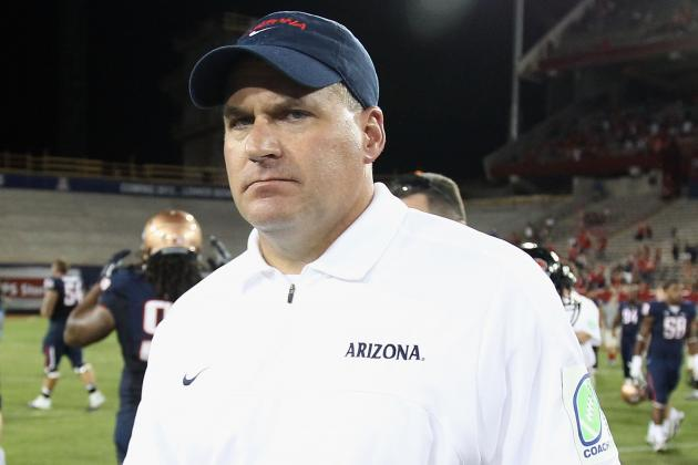Rich Rodriguez on Spring Practice: 'I Have Been Too Nice'