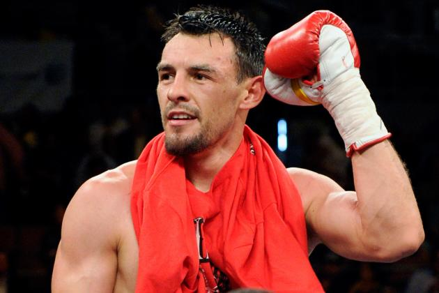 Robert Guerrero Reportedly Arrested at JFK Airport for Gun Possession