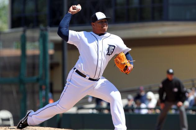Report: Detroit Tigers Option Bruce Rondon, Start Season Closing by Committee