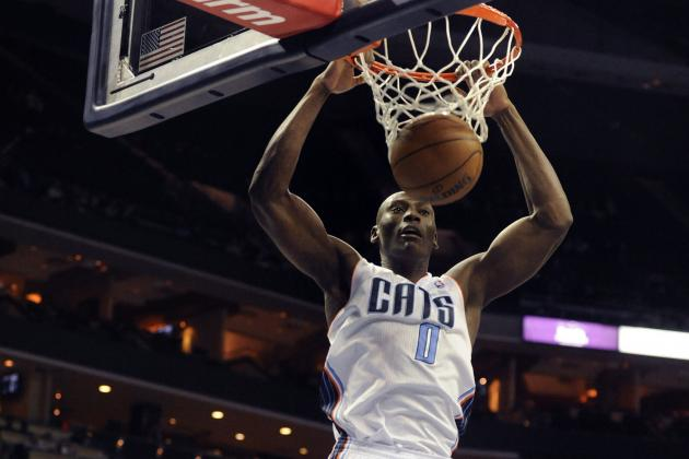 Charlotte Bobcats' Bismack Biyombo Makes Slow, Steady Progress