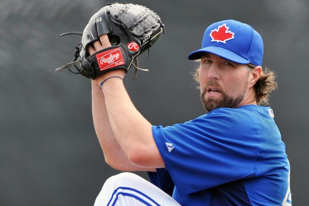 R.A. Dickey Is Prepared for Opening-Night Hullaballoo