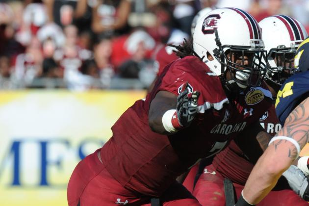Clowney Likely Won't Participate in South Carolina's Spring Game