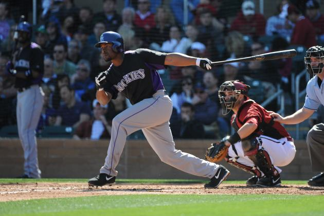 Rockies Name Chris Nelson Starting Third Baseman, Send Nolan Arenado to Triple-a