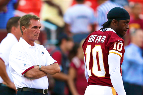 Robert Griffin III and Mike Shanahan Have to Stop Talking About 2012