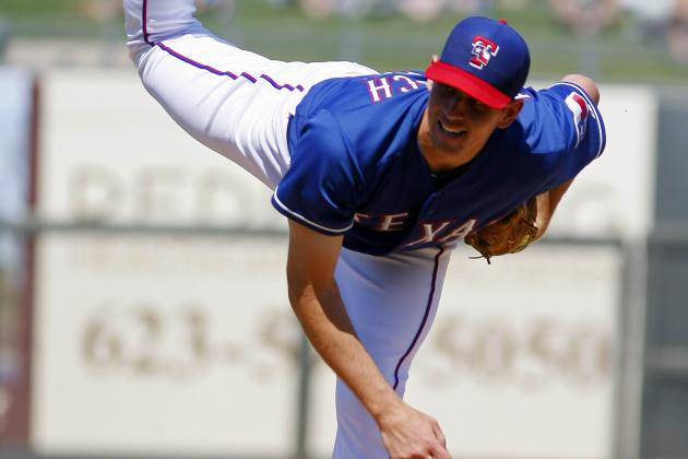 Rangers Make Nick Tepesch Their Fifth Starter