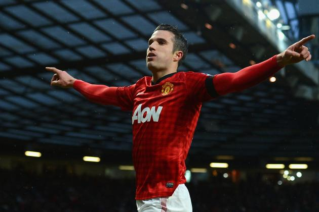 Robin van Persie Needs to End Goal Drought to Win Footballer of the Year Awards